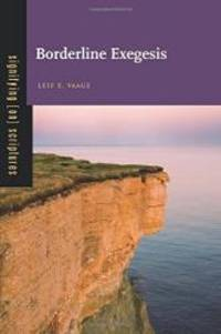 Borderline Exegesis (Signifying (on) Scriptures)