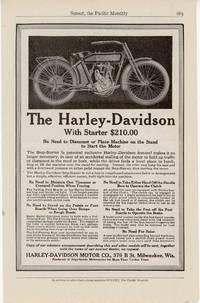 The Harley-Davison With Starter $210.00,\\.