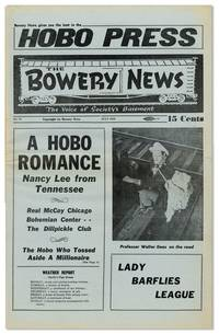 image of Hobo Press / The Bowery News. The Voice of Society's Basement. No. 63 (July 1959)