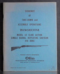 Sequence of Take-Down and Assembly Operations Winchester Model 42 Slide Action Single Barrel Repeating Shotgun 410 Bore