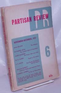 image of Partisan review, Vol. 18, no. 6, Nov-Dec, 1951 a literary monthly. Vol. 18, no. 6, Nov-Dec, 1951