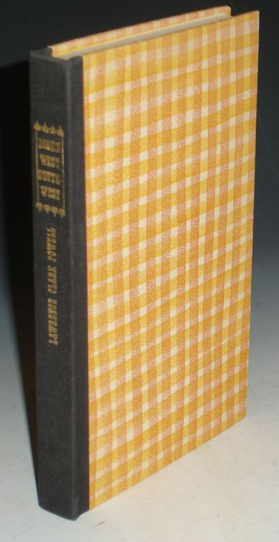 Los Angeles; (1957): The Ward Ritchie Press. First Edition. Octavo. 157pp., Signed by the author. Po...