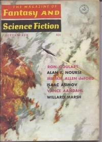 The Magazine of FANTASY AND SCIENCE FICTION (F&SF): September, Sept. 1964