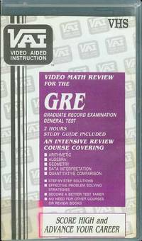 image of Video Math Review for the GRE (Graduate Record Examination) General Test