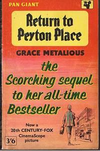 image of RETURN TO PEYTON PLACE