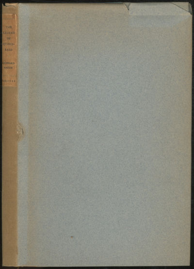 New York: Harper & Brothers, 1928. Hardcover. Fine/Very Good. First American edition. Linen spine a ...