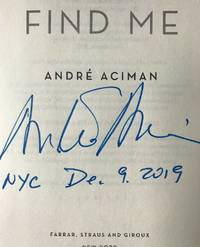 FIND ME (SIGNED & DATED, NYC)