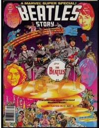 """Stan Lee Presents:  A Marvel Super Special! """"The Beatles Story""""  -- vol. 1, No. 4 1978 Issue"""