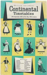 image of Continental Timetables 29th September 1957 to 31st  May 1958 inclusive
