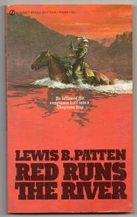 image of 1971 First Paperback Edition of Red Runs the River by Lewis B. Patten