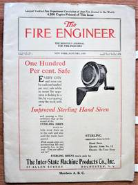 image of The Fire Engineer. The Monthly Journal for Fire Fighters January 1924