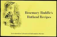 image of Rosemary Ruddle's Rutland Recipes