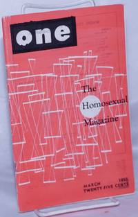image of One: the homosexual magazine vol, 3, #3, March 1955