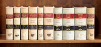Laws of the United States of America, 10 Volumes, 1815-1845