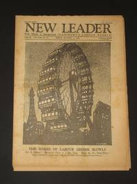 The New Leader Incorporating 'The Labour Leader': October 14th 1927