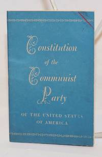 Constitution of the Communist Party of the United States of America
