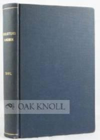 BIBLIOTEKSHANDBOK, OVERSATT, BEARBETAD OCH MED BIDRAG AV SVENSKA FACKM