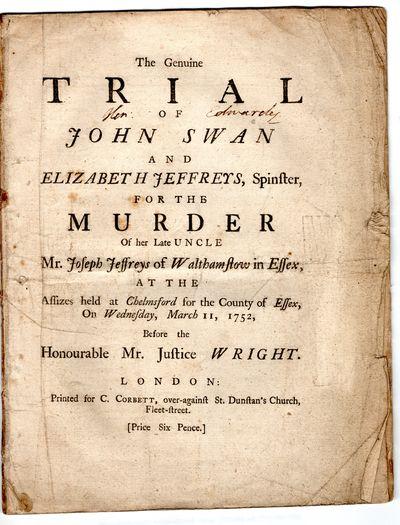 genuine trial of john swan and...