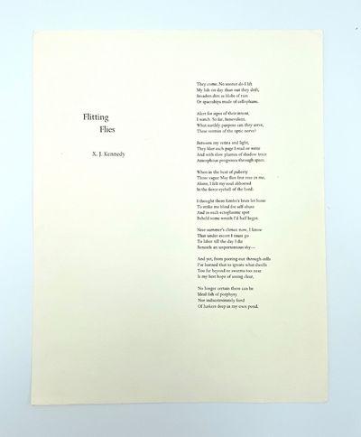 Palo Alto, CA: Chimera Books, 1981. Fine. 14 x 11 inches. On handmade Fabriano paper. One of 150 uns...
