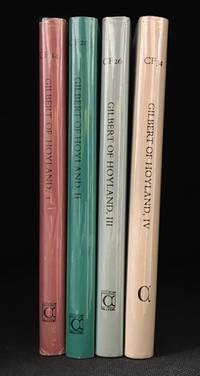 The Works of Gilbert of Hoyland (4 Volumes) (Publisher series: Cistercian Fathers Series.)