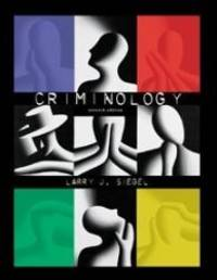 Criminology by Larry J. Siegel - Hardcover - 2000-06-01 - from Books Express and Biblio.com