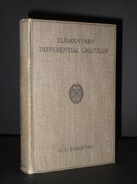 Elementary Differential Calculus