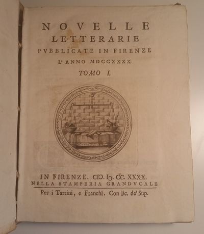 Florence: All' Insegna del Centauro, 1768. First Series, 27 volumes of 29. 4to. Each annual volume c...