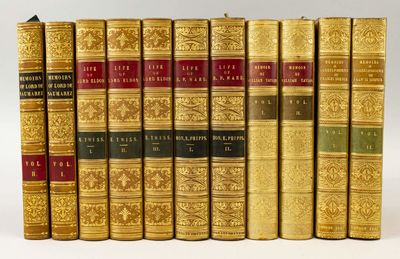 London, 1836-50. Various editions. 224 x 137 mm. (8 3/4 x 5 1/2