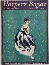 "Harper's Bazar.  February 1922.  [ERTE ""FICKLE WOMAN"" COVER]"
