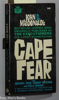 CAPE FEAR [1962 AUTHOR SIGNED ]