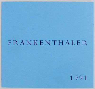 New York: Andre Emmerich Gallery, 1991. First edition. Small softcover. Exhibition catalog for a sho...