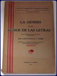 LA GENESIS DE LOS SIGNOS DE LAS LETRAS.