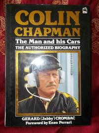 Colin Chapman Foreword Enzo Ferrari By Gerard Quot Jabby