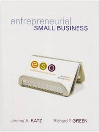 Entrepreneurial Small Business: With Student CD and OLC