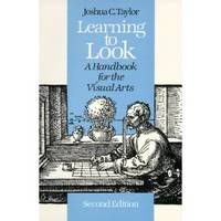 image of Learning to Look : a Handbook for the Visual Arts