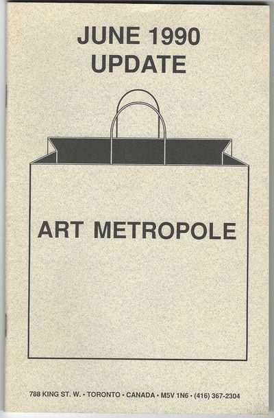 60 pp. & order form. 8vo, printed pictorial wrappers, staple-bound. Toronto: 1990. A very scarce Art...