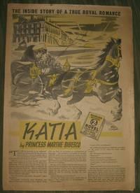 "image of ""Katia""  Philadelphia Record Supplement for November 19, 1939"