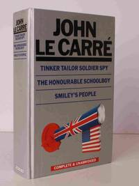 image of Tinker Tailor Soldier Spy [with] The Honourable Schoolboy [with] Smiley's People. [The Karla trilogy complete and unabridged]. THE KARLA/SMILEY TRILOGY COLLECTED