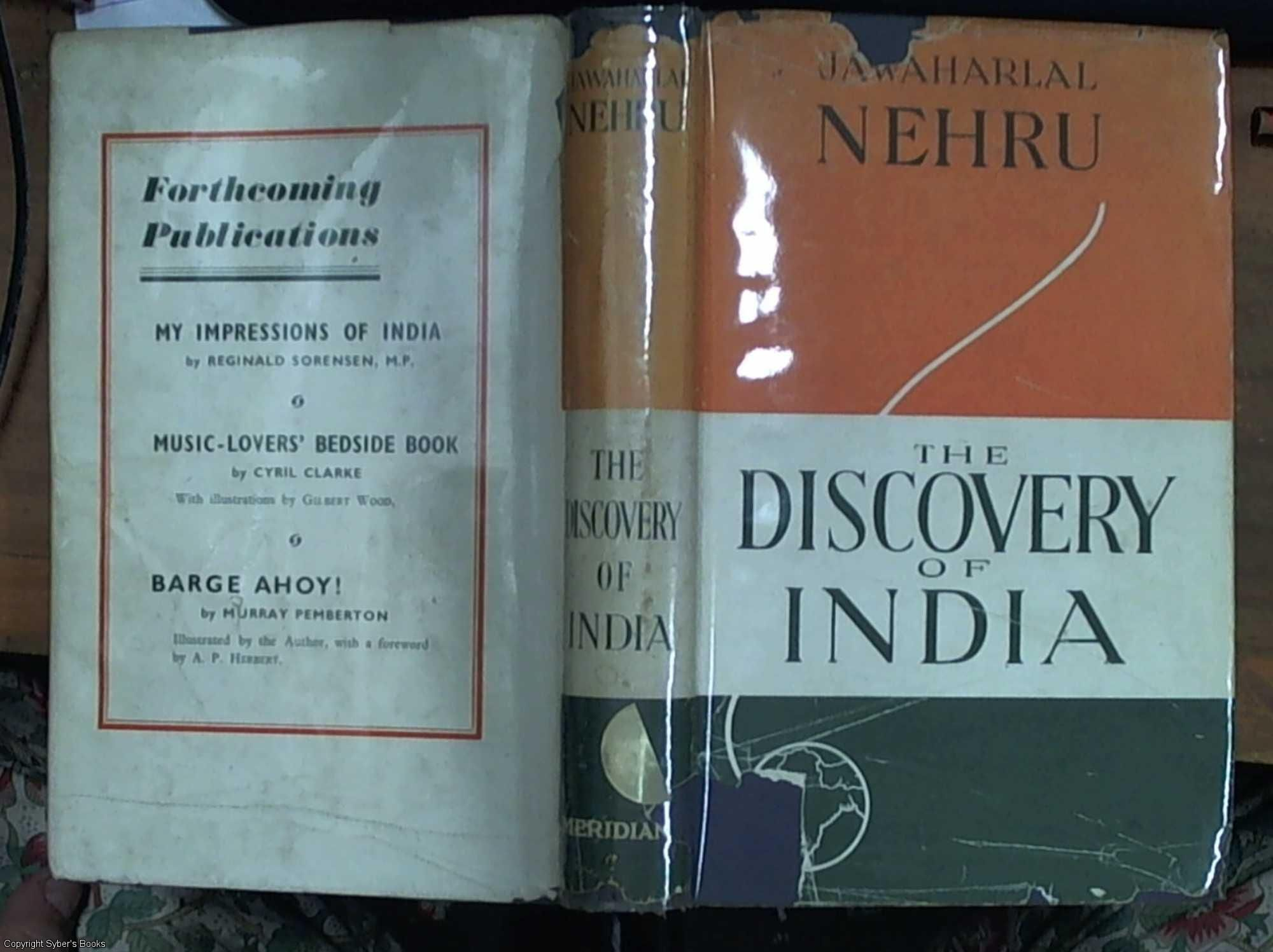 Of the book discovery india