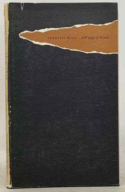 Austin: Published by the Humanities Research Center, The University of Texas, 1962. 1st edition. 500...