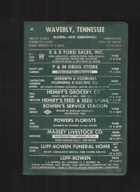 image of Telephone Directory, December 1961, Waverly, Tenn. , Mcewen Including New  Johnsonville
