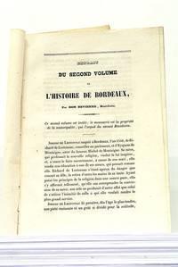 ABREGE de la Vie de Mme de Lestonnac, Fondatrice des Religieuses de Notre-Dame, et extrait des...