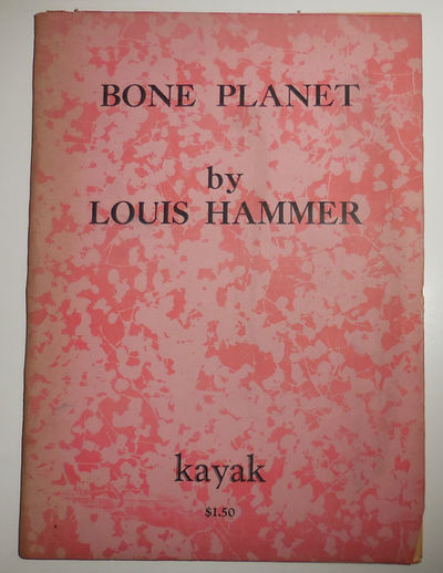 San Francisco: Kayak, 1967. First edition. Paperback. Very Good. Decorated wrappers. A volume of poe...