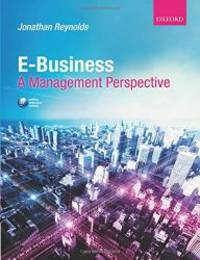 image of E-Business: A Management Perspective