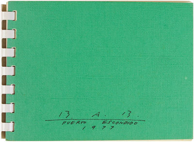 Los Angeles: Art Catalogues, 1977. Faint spots of discoloration on the inside of both covers, else n...