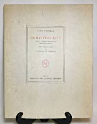 image of LE MYSTERE LAIC. Essai D'Etude Indirecte (Giorgio de Chirico) Avec Cinq Dessins de Giorgio de Chirico