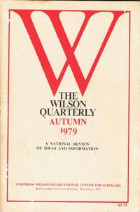 SEX AND HUMAN NATURE in THE WILSON QUARTERLY, Autumn, 1979