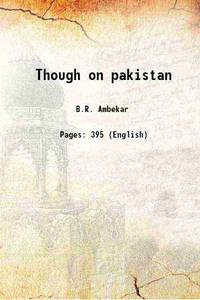 Though on pakistan 1941 [Hardcover]