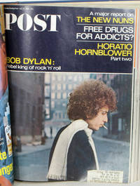 The Saturday Evening Post.  July 1966 - January 1967 bound volume.