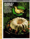 image of McCall's Cooking School Recipe Card: Holiday Delights 14 - Christmas Angel  Food Cake (Replacement McCall's Recipage or Recipe Card For 3-Ring Binders)